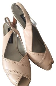 Etienne Aigner Beige/Powdered Pink Formal