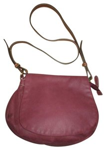 Coldwater Creek Leather Flap Cross Body Bag