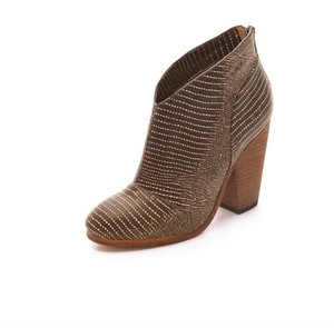 Modern Vintage Bootie Leather Brown Boots
