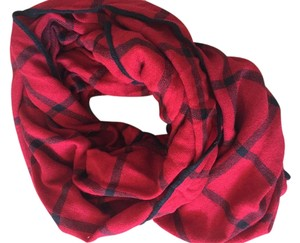 Charlotte Russe Charlotte Russe red plaid scarf infinity