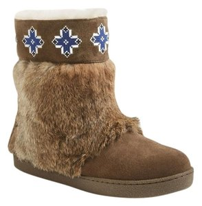 Tory Burch Rabbit Fur Boots