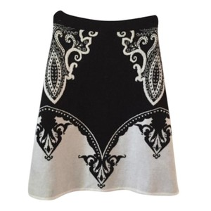 Etro Skirt Black and off white