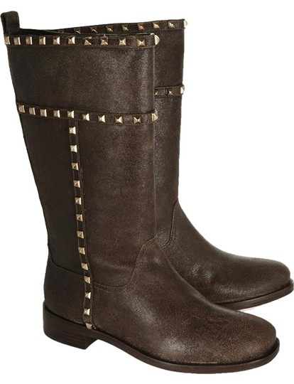 Tory Burch Studded Shauna Brown Boots Image 1
