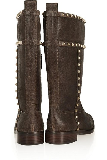 Tory Burch Studded Shauna Brown Boots Image 2