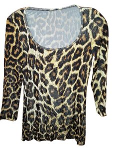 Just Cavalli T Shirt tiger print