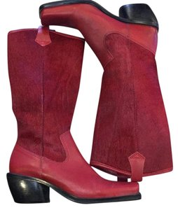 Made in Brazil Red Boots