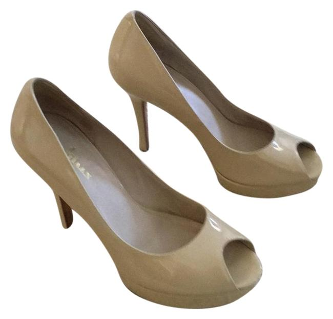 Item - Nude Pumps Platforms Size US 9 Regular (M, B)