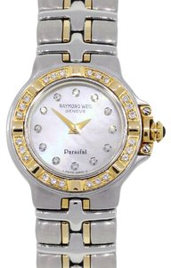 Raymond Weil Raymond Weil Parsifal MOP Diamond Dial Two Tone Watch