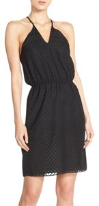 Ali & Jay short dress Black Convertable Chiffon Chevron on Tradesy