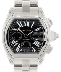 Cartier Cartier 2618 Roadster XL Black Chronograph Dial Watch