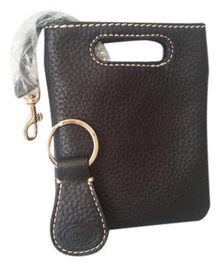 Dooney & Bourke PEBBLED LEATHER WALLET / Key Fob