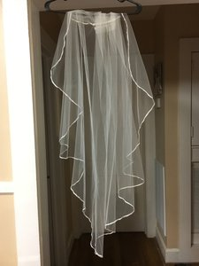 Ivory Fingertip Length Veil