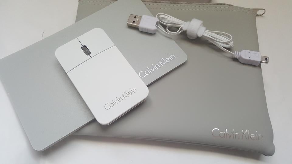 grey mouse pad new calvin klein business travel mouse mouse pad pouch set on