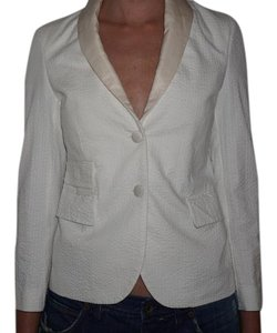 Brooks Brothers white Blazer