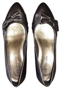 Anne Klein Bow Ak7aion Copper Metallic Wedges