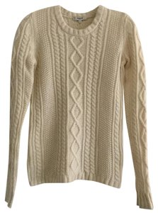 Madewell Cable Knit Merino Sweater
