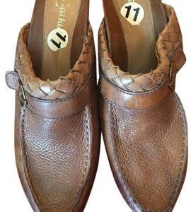 Earthies Brown Mules