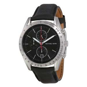 Michael Kors Michael Kors Men's Black Nylon Chronograph Mk8384