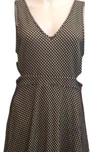 Shasa short dress Black and white polka dot on Tradesy
