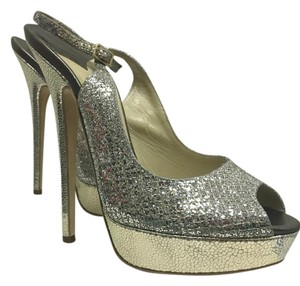 Jimmy Choo Stiletto Glitter Formal