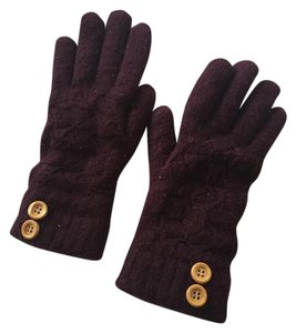 Urban Outfitters Pins and Needles Maroon Gloves