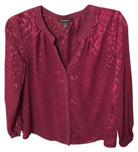 Banana Republic Top Burgandy