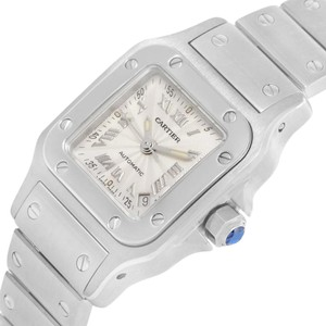 Cartier Cartier Santos Galbee Ladies Stainless Steel Automatic Watch W20044D6