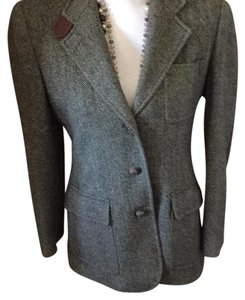 Ralph Lauren Black & white tweed Blazer