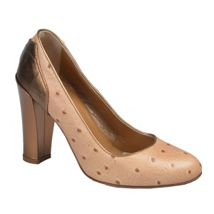 Just Cavalli Brown/Gold Pumps