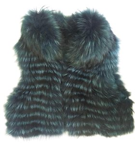 Elie Tahari Fur Fur Fall Fashion Vest