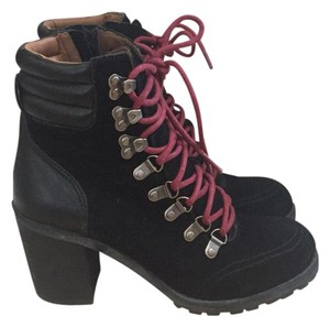 Lucky Brand Black/red laces Boots