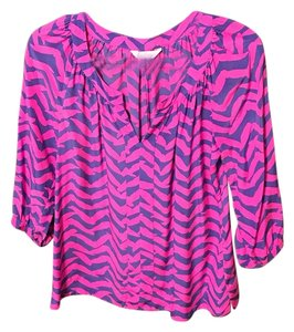 Lilly Pulitzer Top Pink and purple