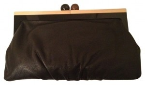 Kate Spade Black and Brown Clutch