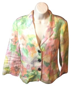 Tibi Lightweight Casual Spring Multi-Color Jacket