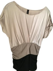 Mccain Top Tan,Black, Beige