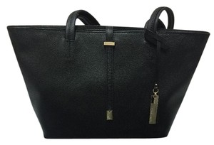 Vince Camuto Leather Small Tote in Black