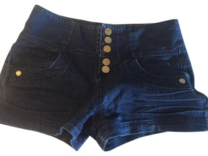 Guess Mini/Short Shorts Dark blue jean