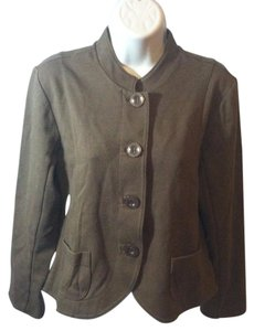 Coldwater Creek Casual Jacket Solid Fitted Coat