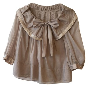Flowy Top Taupe