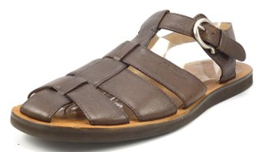 Salvatore Ferragamo Men's Leather Strap Sandals