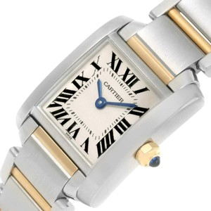 Cartier Cartier Tank Francaise Ladies Steel Yellow Gold Quartz Watch W51007Q4
