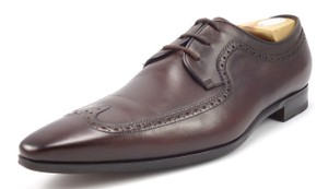 Gucci Men's Leather Wingtip Lace Up Oxfords