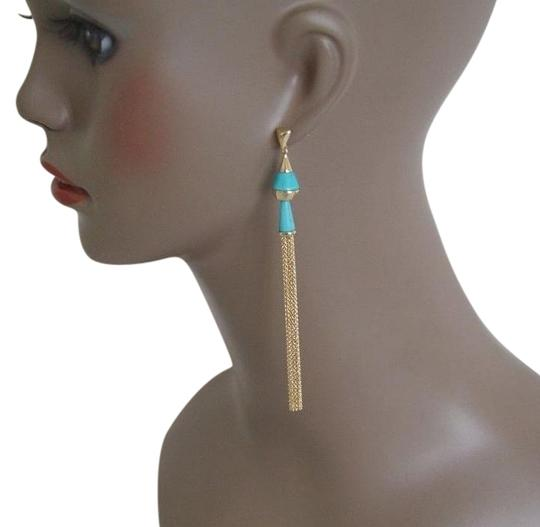 Preload https://item4.tradesy.com/images/alexis-bittar-goldturquoise-lucite-liquid-visage-collection-dangling-tassel-earrings-19798778-0-1.jpg?width=440&height=440