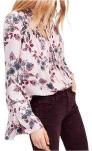 Free People Top Lavender combo