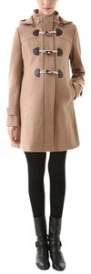Momo Maternity LIKE NEW! MOMO MATERNITY - Maisy Pleated Duffle Coat (Small, Camel)