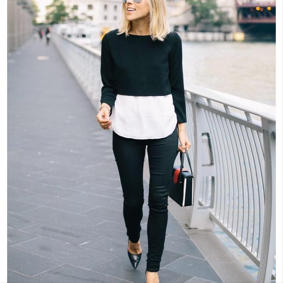 Pullover 3 and Black Sweater 4 Zara White FqfBwP