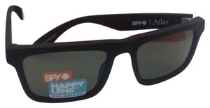 Spy Polarized SPY OPTIC Sunglasses ATLAS Soft Matte Black w/ Grey-Green