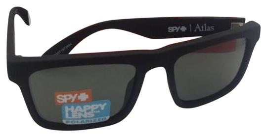 Spy Polarized SPY OPTIC Sunglasses ATLAS Soft Matte Black w/ Grey-Green Image 0