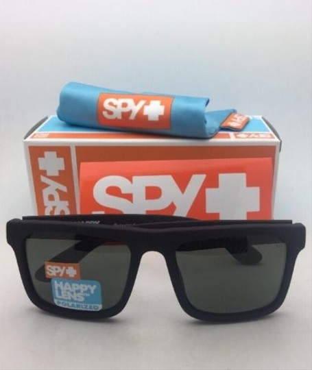 Spy Polarized SPY OPTIC Sunglasses ATLAS Soft Matte Black w/ Grey-Green Image 2