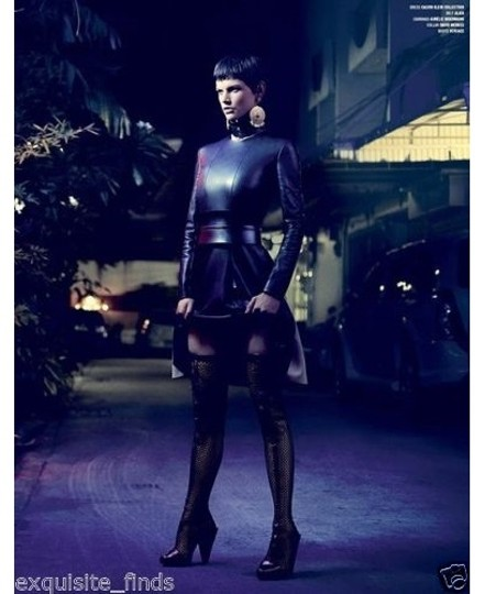 Versace Thigh High Black Boots Image 7
